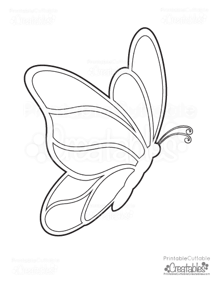 free-butterfly-coloring-pages