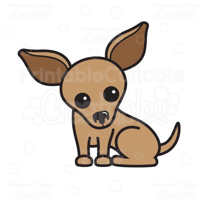 chihuahua dog clipart - photo #5