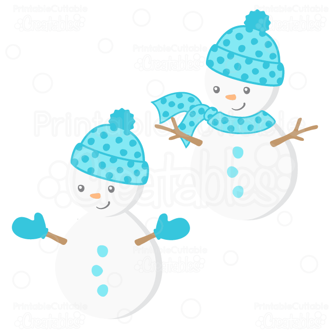"""Be the first to review """"Cute Boy Snowman SVG File & Clipart ..."""