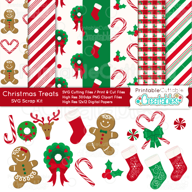 Christmas-Treats-SVG-Scrap-Kit