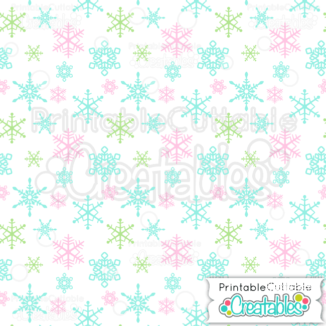 01-Candy-Colored-Snowflakes-Pattern