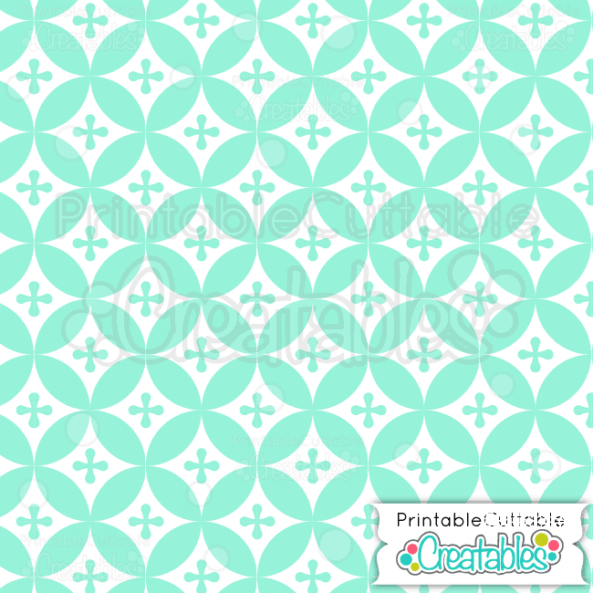 07-Winter-Mint-Interlocking-Circles-Pattern