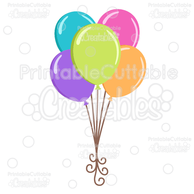 Birthday-Balloons-SVG-Cutting-Files-Clipart